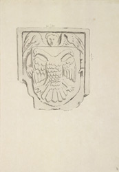 Rewley Abbey, near Oxford, sculpture f.55